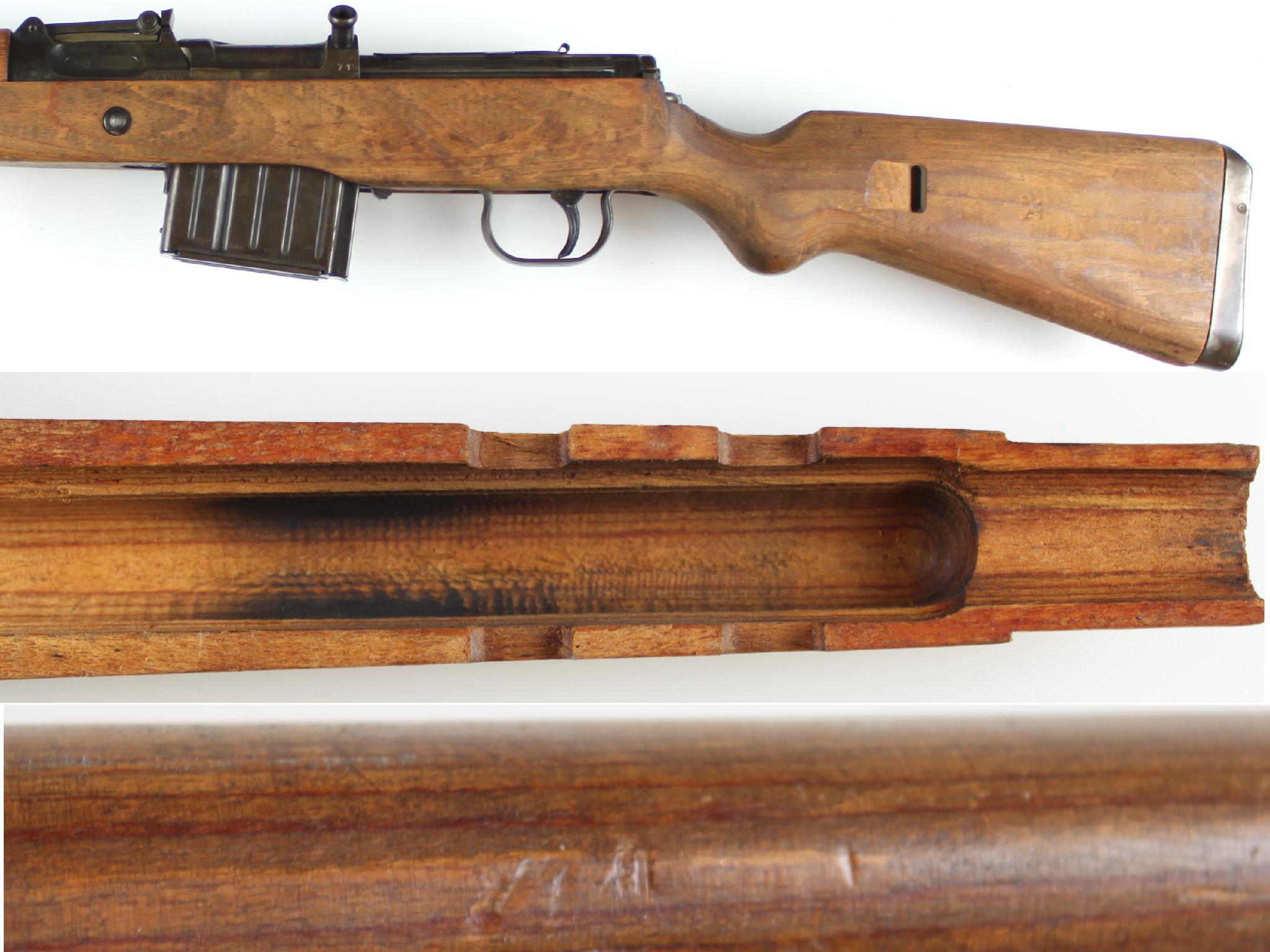 gewehr g43 handguard exact reproduction